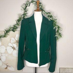 WH BM | Green Blazer Jacket Size 14